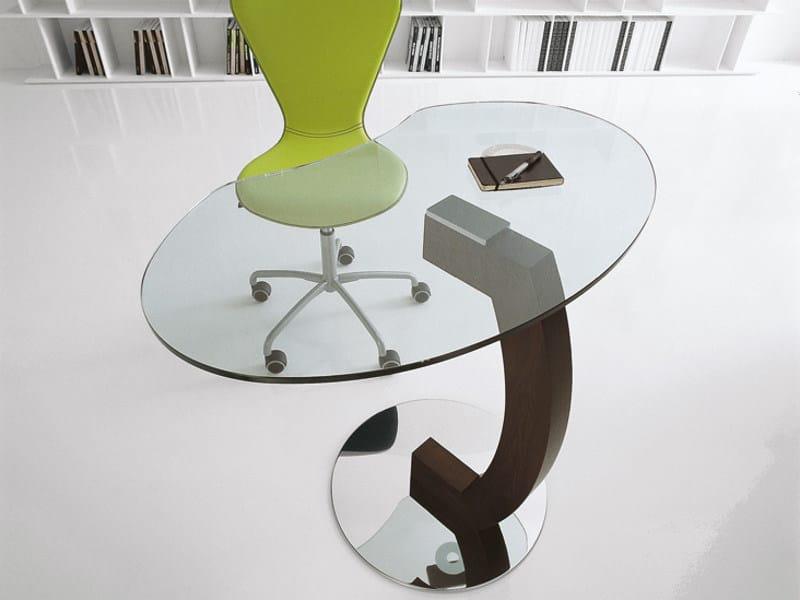 PC crystal coffee table KIRK - Cattelan Italia