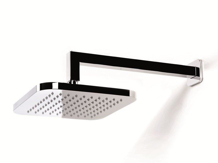 Wall-mounted rain shower with arm SHOWER SYSTEM | Wall-mounted overhead shower - RUBINETTERIE RITMONIO