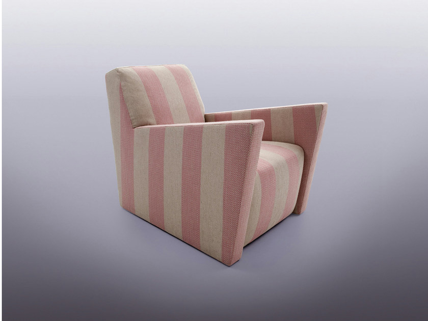 Upholstered armchair with armrests ALTERNANZA - ERBA ITALIA