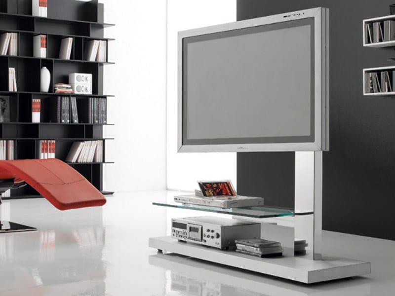 mueble tv cristal: