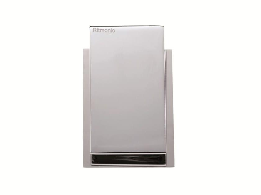 Chrome-plated shower mixer TYPE-FACE | Shower mixer by RITMONIO