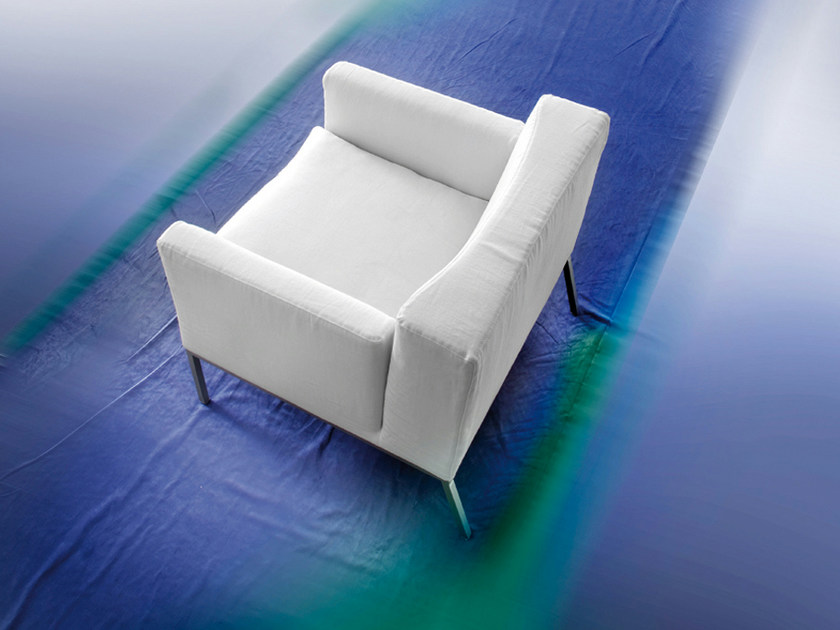 Relaxing armchair with armrests CRONACA - ERBA ITALIA