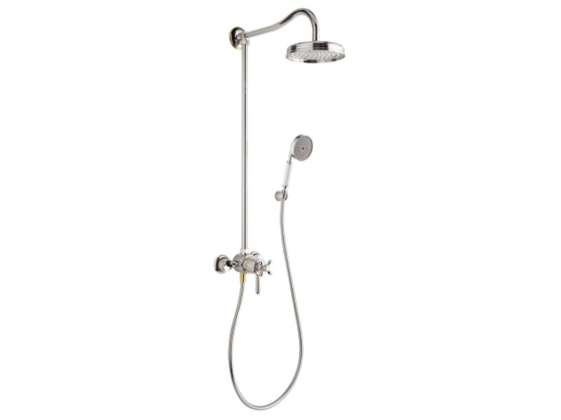 Colonne de douche thermostatique collection axor carlton by hansgrohe - Douche encastrable hansgrohe ...