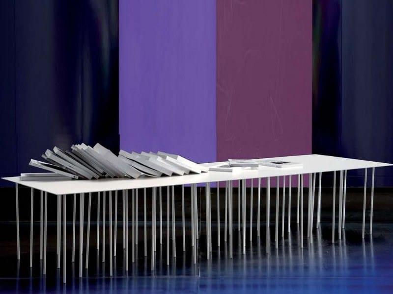 Low rectangular coffee table DANZANTE - ERBA ITALIA