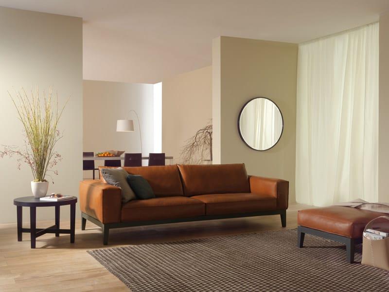 2 seater leather sofa CARESSE FLY | 2 seater sofa - ESTEL GROUP