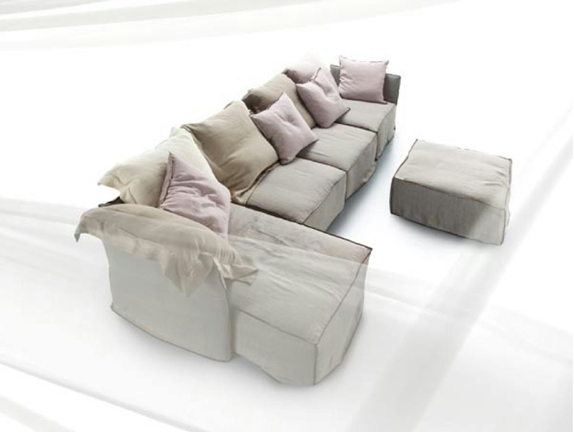 Canap composable indipendent by erba italia design for Canape composable