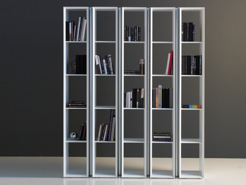 biblioth que modulable en mdf tag by cattelan italia. Black Bedroom Furniture Sets. Home Design Ideas