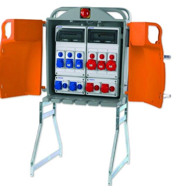 Schema Elettrico Industriale : Schema elettrico quadro da cantiere quadri elettrici