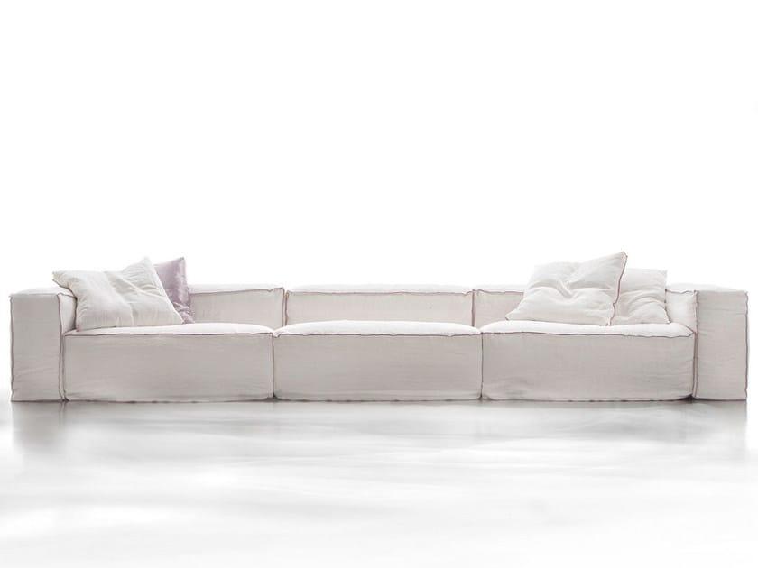 Sectional sofa ASPETTAMI by ERBA ITALIA