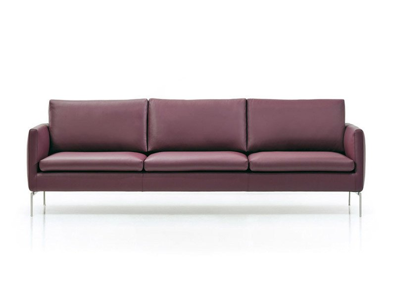 3 seater leather sofa HOPI | 3 seater sofa - ESTEL GROUP