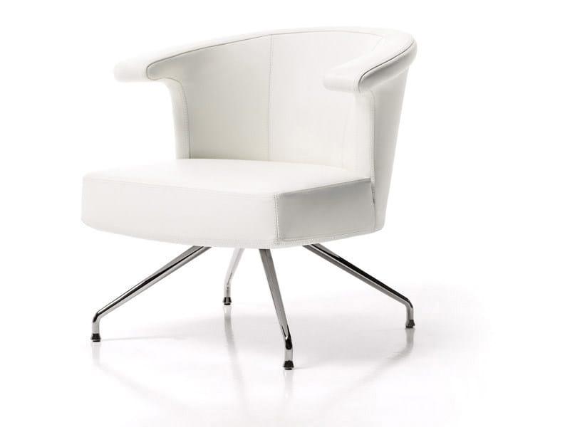 Armchair with 4-spoke base TOKU' - ESTEL GROUP