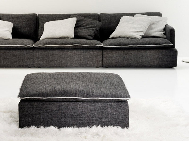 Upholstered pouf PARAMOUNT | Pouf - ESTEL GROUP