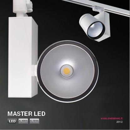 LED aluminium Track-Light MASTER LED VL - METALMEK ILLUMINAZIONE