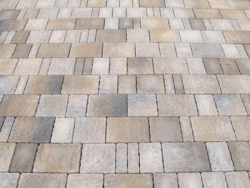 Pavimento per esterni in cemento effetto pietra country anticato favaro1 - Piastrelle esterno economiche ...