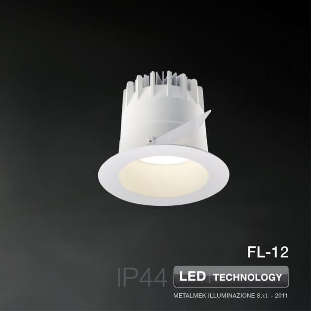 LED recessed spotlight FL-12 | Spotlight - METALMEK ILLUMINAZIONE