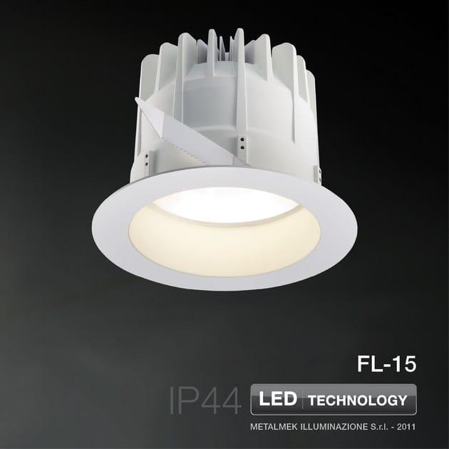 LED recessed spotlight FL-15 | Spotlight - METALMEK ILLUMINAZIONE
