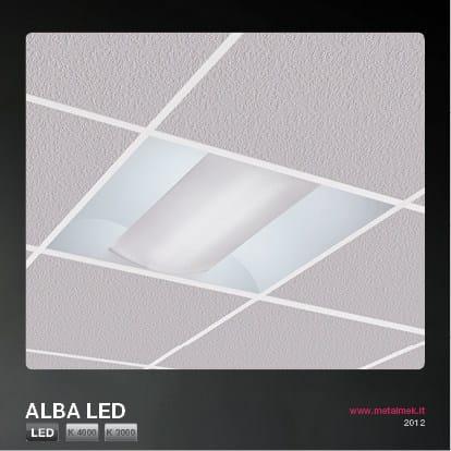 Low voltage LED ceiling lamp ALBA LED | Ceiling lamp - METALMEK ILLUMINAZIONE