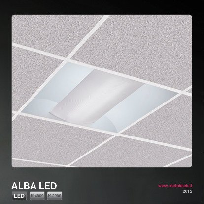 Low voltage LED direct light built-in lamp for false ceiling ALBA LED | Built-in lamp for false ceiling - METALMEK ILLUMINAZIONE