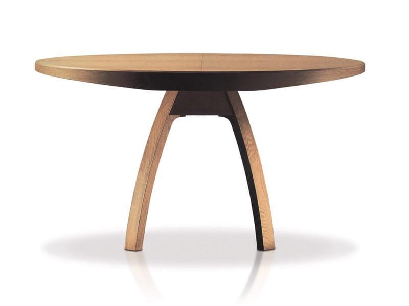 Extending oak table BRAMANTE - ESTEL GROUP