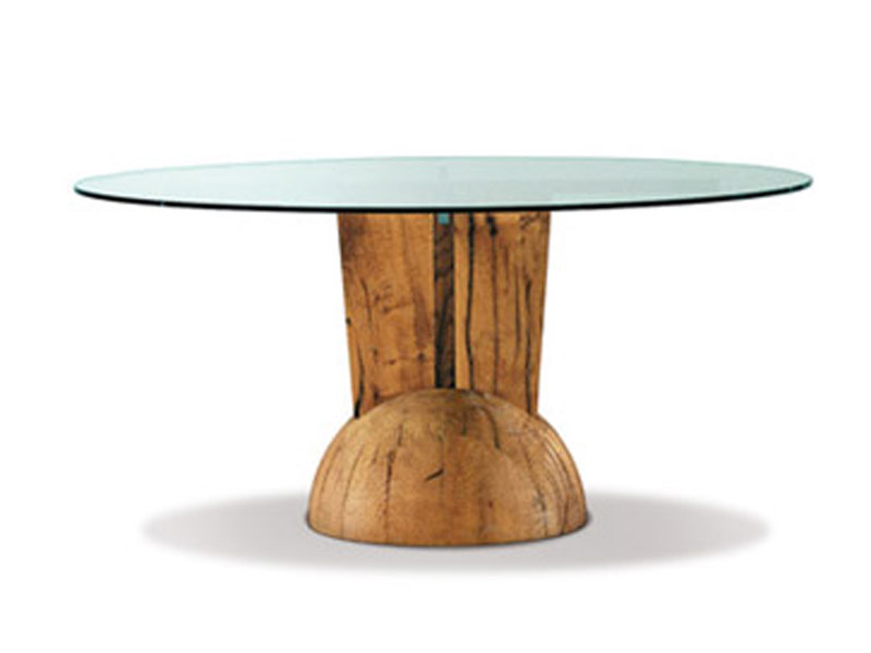 Round glass table BRANCUSI | Glass table - ESTEL GROUP