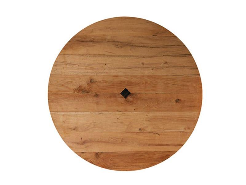 Tavolo rotondo in legno di recupero brancusi tavolo - Tavolo rotondo in legno ...