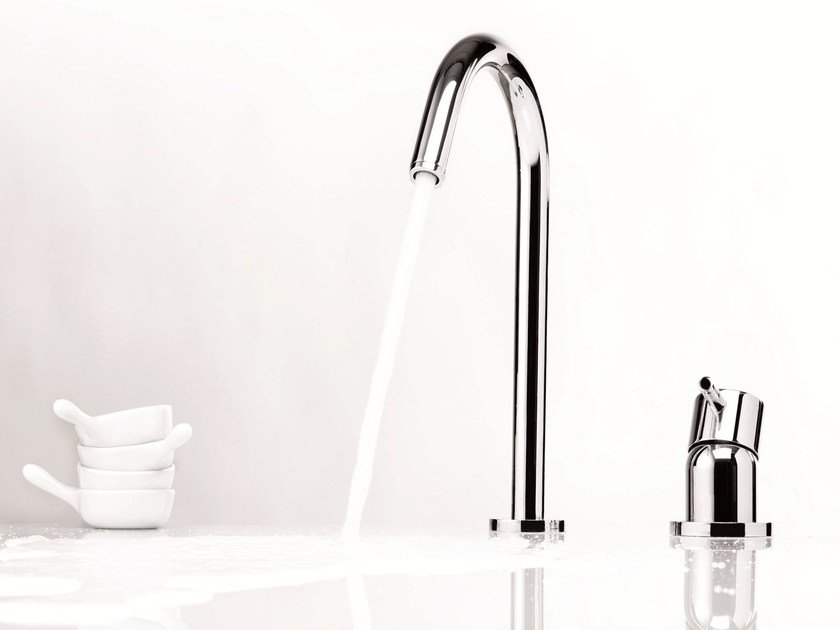 2 hole countertop washbasin mixer DIAMETROTRENTACINQUE | Countertop washbasin mixer - RUBINETTERIE RITMONIO