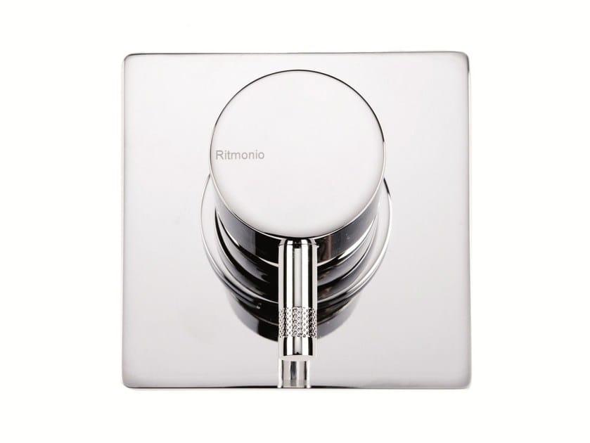 Single handle shower mixer with plate DIAMETROTRENTACINQUE | Shower mixer with plate - RUBINETTERIE RITMONIO