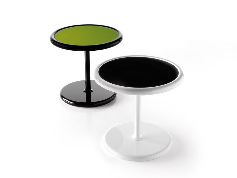 Round coffee table for living room POINT - ESTEL GROUP