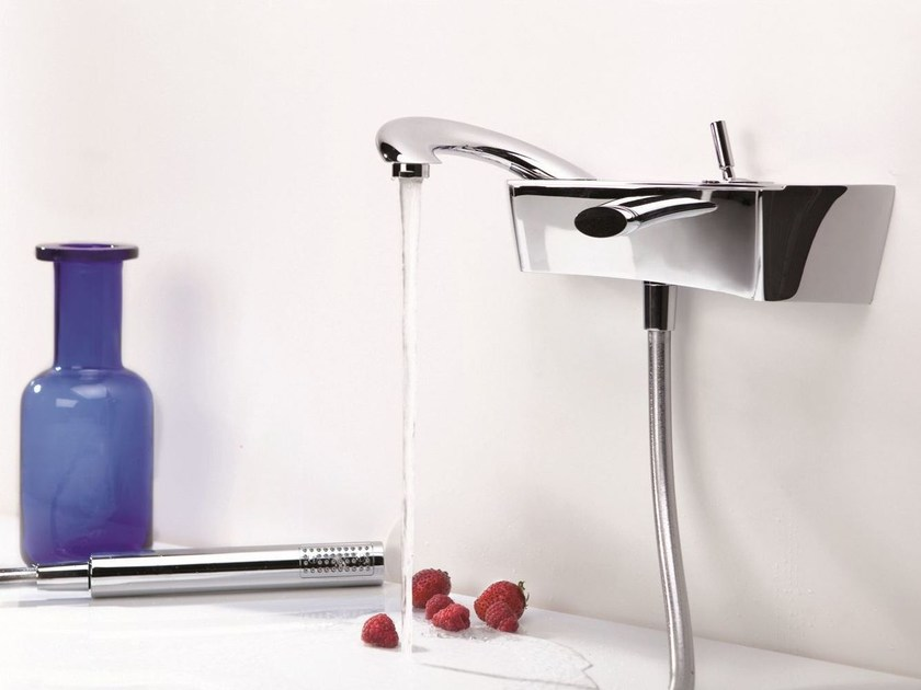 Wall-mounted single handle bathtub mixer PAOLO E FRANCESCA | Bathtub mixer - RUBINETTERIE RITMONIO