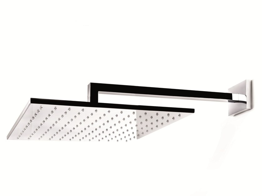 Wall-mounted stainless steel rain shower ALMENOINDUE | Wall-mounted overhead shower - RUBINETTERIE RITMONIO