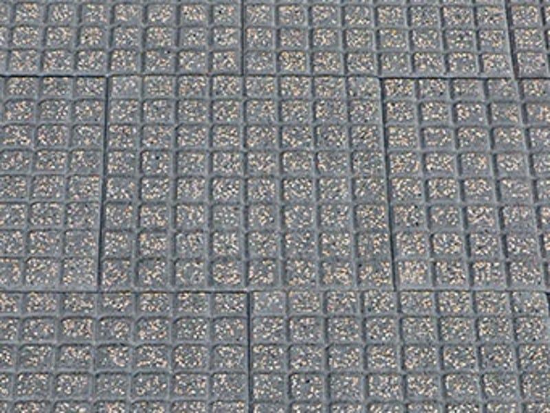 Cement outdoor floor tiles CUBETTO - FAVARO1