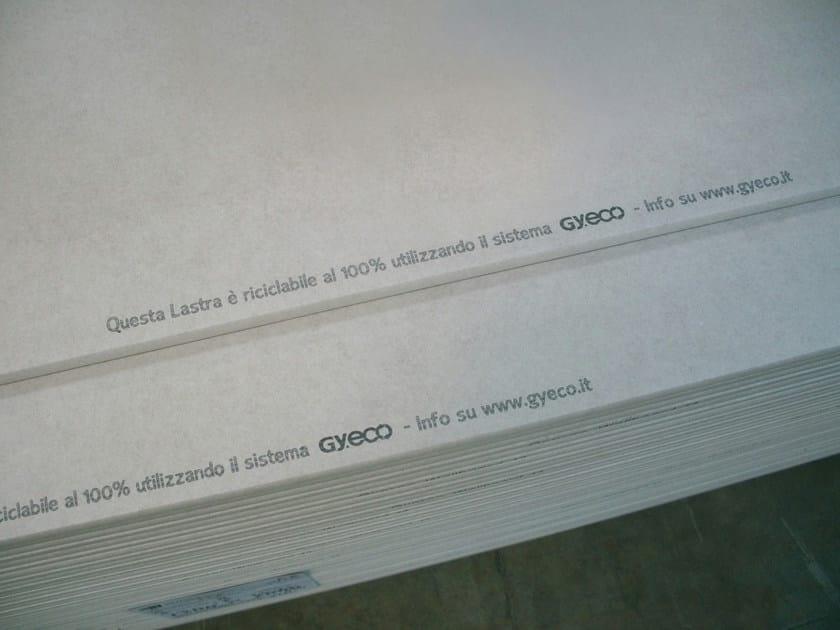 Gypsum plasterboard Gy.eco - gestione scarti cartongesso - Saint-Gobain Gyproc