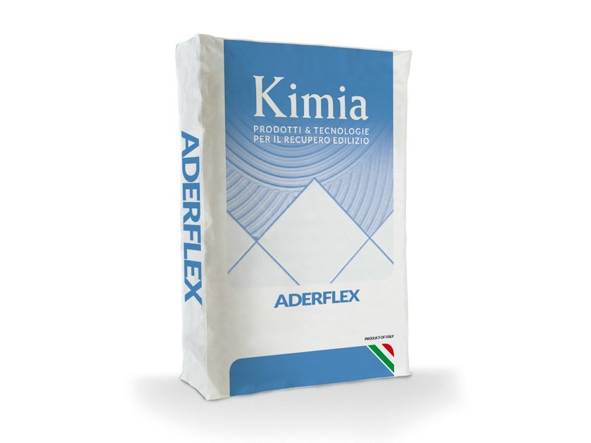 Cement adhesive for flooring ADERFLEX by Kimia