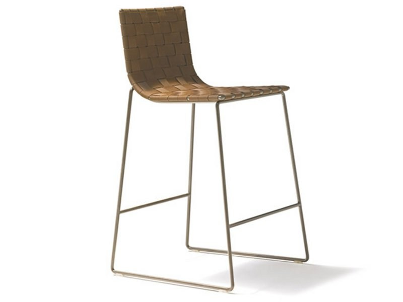 Sled base garden chair TRENZA | Chair by Andreu World