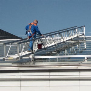 Aluminium Heavy duty ladder Heavy duty ladder by AdermaLocatelli