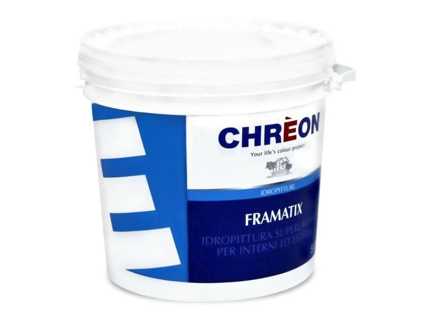 Washable water-based paint FRAMATIX - Chrèon Lechler