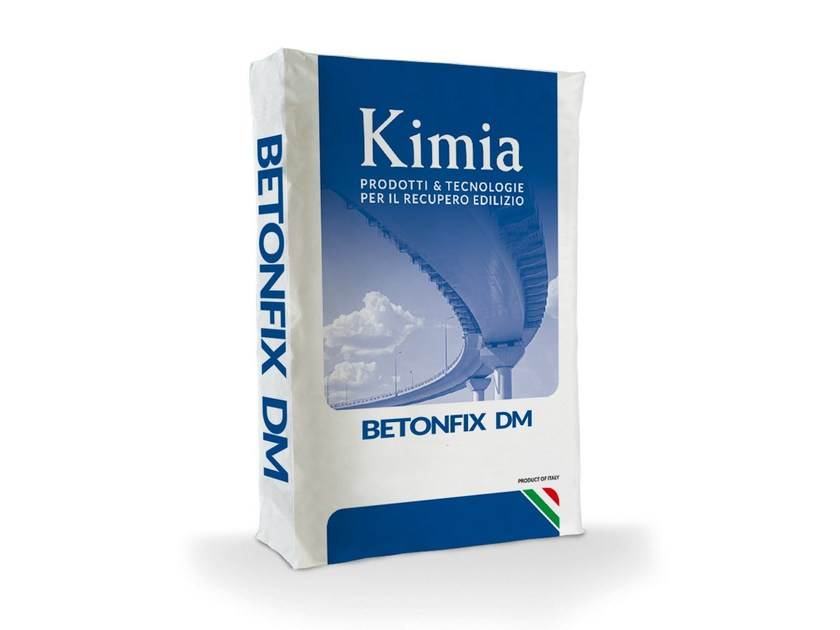Mortar and grout for renovation BETONFIX DM - Kimia