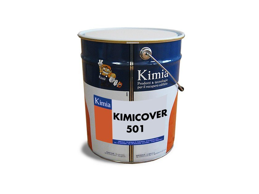 Liquid waterproofing membrane KIMICOVER 501 - Kimia