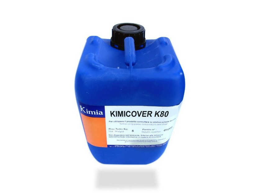 Asbestos encapsulation treatment and product KIMICOVER K80 - Kimia