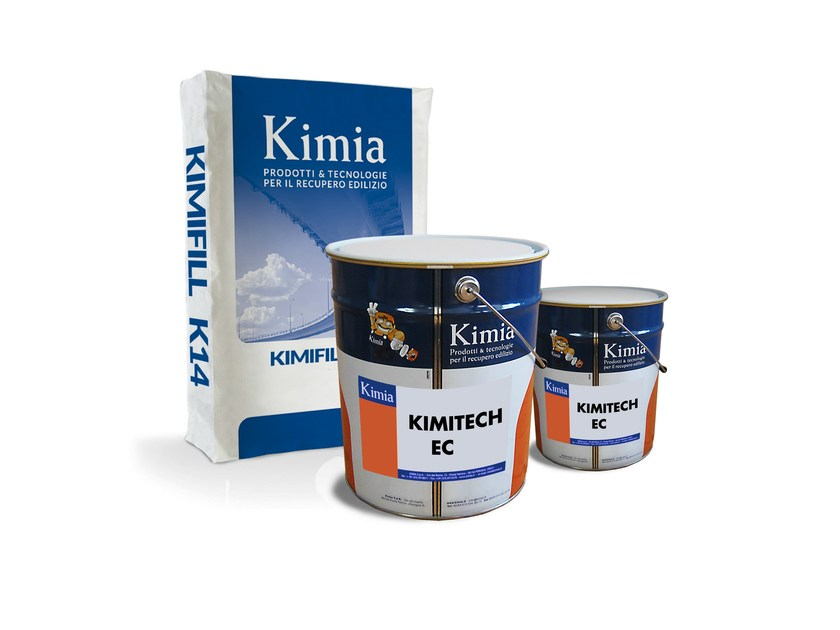 Continuous and industrial flooring KIMITECH ECA by Kimia
