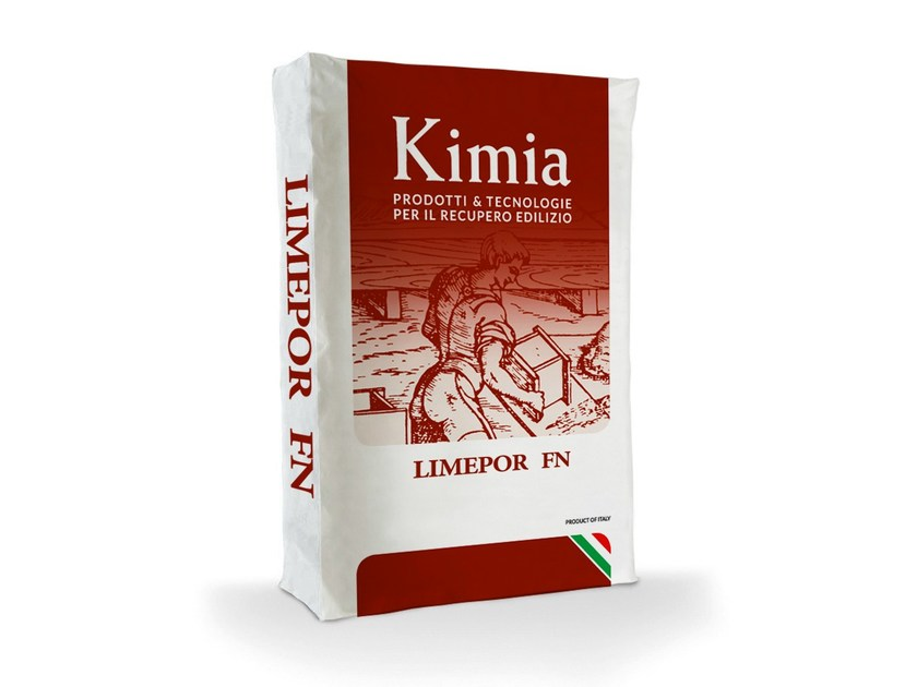 Skim coat and cementitious finish for plaster LIMEPOR FN - Kimia