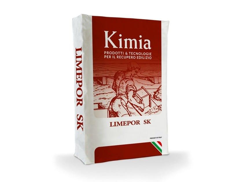 Gypsum and decorative plaster LIMEPOR SK - Kimia