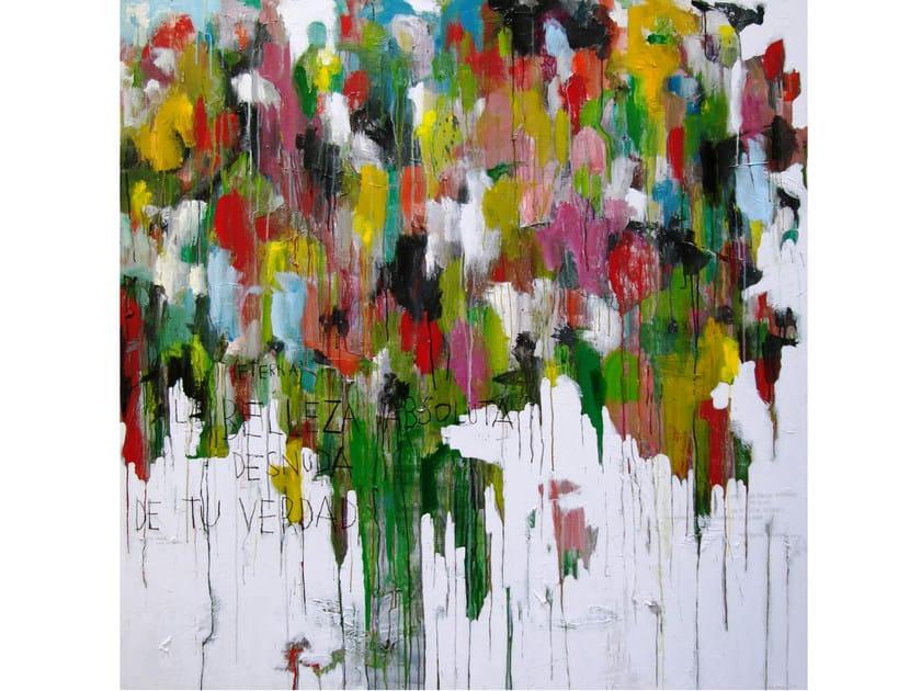 Acrylic on canvas LA BELLEZA by ICI ET LÀ