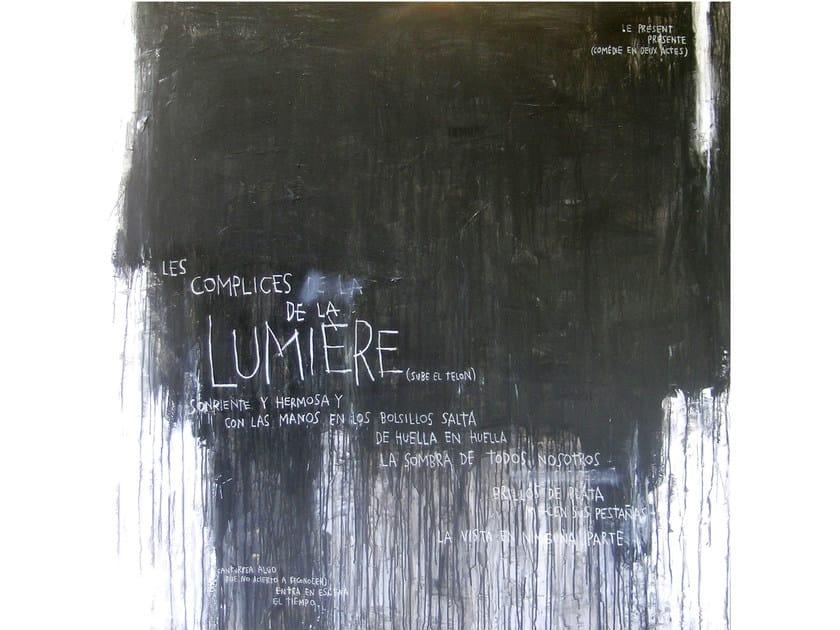 Acrylic on canvas LA LUMIÉRE - ICI ET LÀ