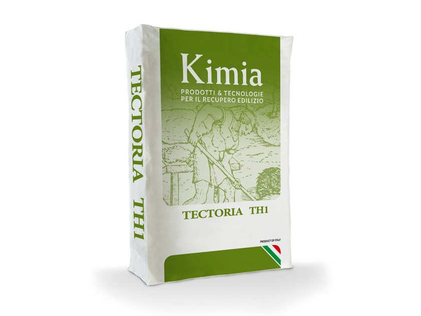 Hydraulic and hydrated lime based plaster TECTORIA TH1 by Kimia