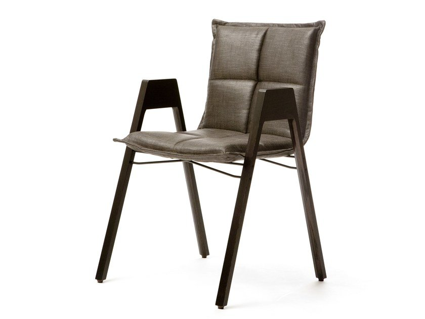 Stackable chair with armrests LAB | Chair by Inno Interior Oy