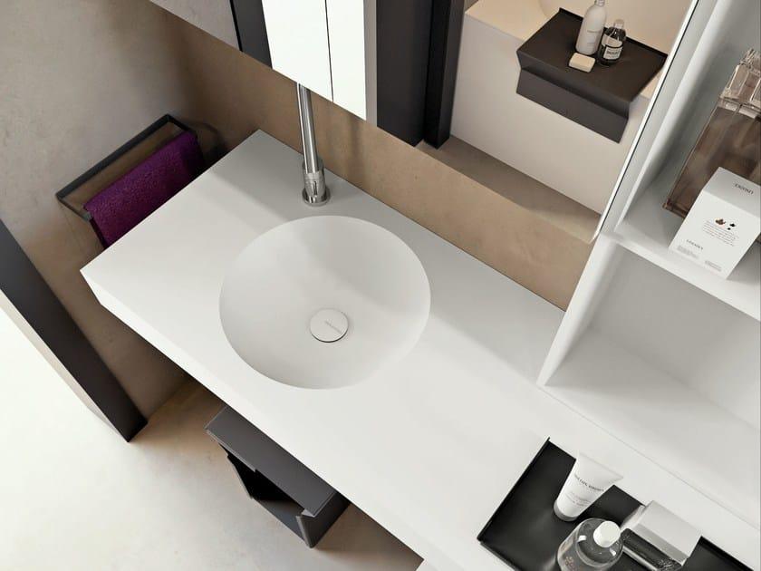 Undermount Corian® washbasin