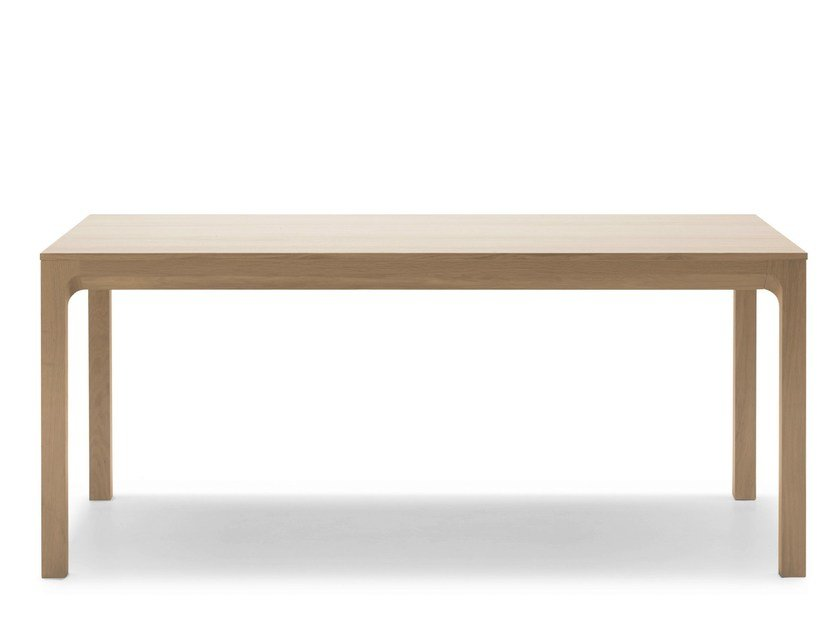 Rectangular oak table LAIA | Rectangular table - ALKI