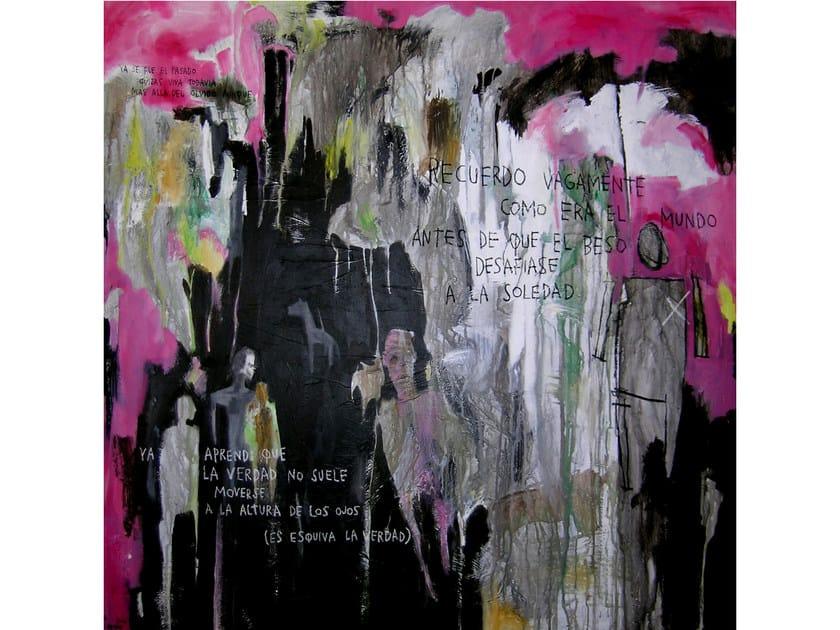 Acrylic on canvas RECUERDO - ICI ET LÀ