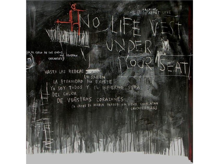 Acrylic on canvas DIABLO ROJO - ICI ET LÀ